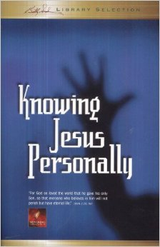 Knowing Jesus Personally